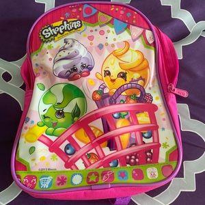 Pink mini Shopkins backpack!